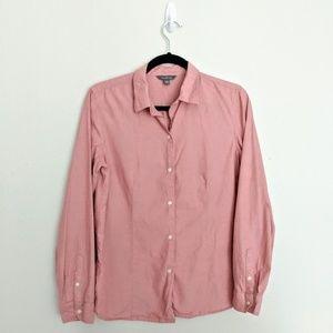 LL Bean button down size 10 Pink